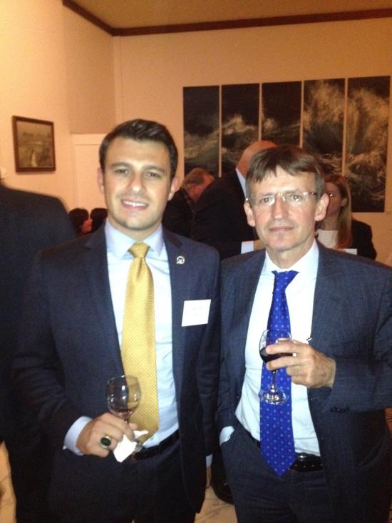 NIAF President and CEO John M. Viola  and Ambassador Pier Francesco Zazo