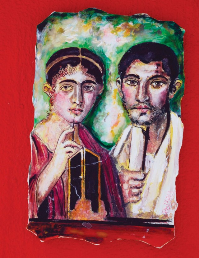 the breadmakers An early portrait of Pompeii bakers