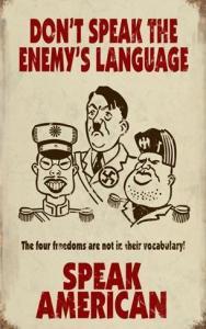 Enemy's Language