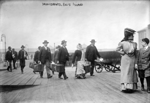 Ellis Island platform